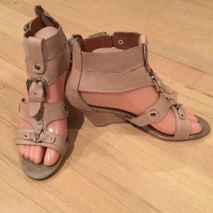 Jeffrey Campbell Ibiza Sandals w/ small heel